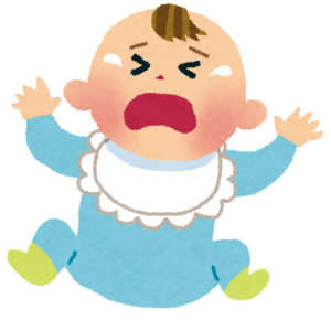 赤ちゃんの突発性発疹