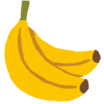 バナナで離乳食