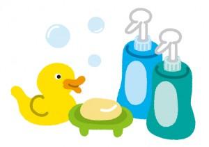 赤ちゃんのお風呂セット