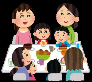 ママ友の会食