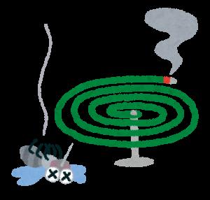 虫除けの蚊取り線香