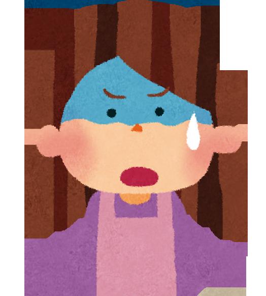 予防接種の副反応に悩むママ
