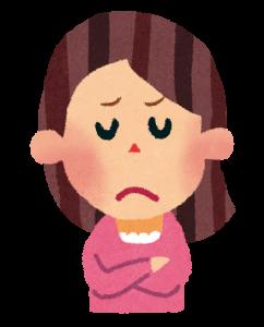 幼稚園のママ友に悩む女性