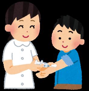 子供にインフルエンザの予防接種