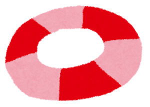 赤ちゃんのお風呂浮き輪