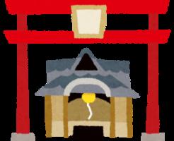 お宮参りに神社