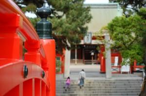 宮参りの神社