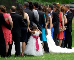 子供と結婚式