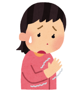 腱鞘炎に悩む女性