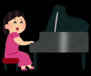 習い事にピアノ