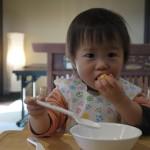 離乳食ゴックン期からモグモグ期へ!ポイントは食べる楽しみ!