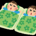 子供の寝相の悪さには原因が!元気な子ほど寝相が悪い?