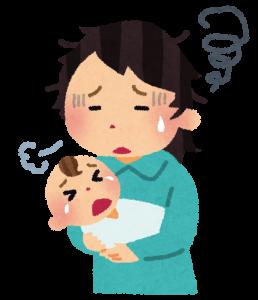 夜泣きの原因と対策
