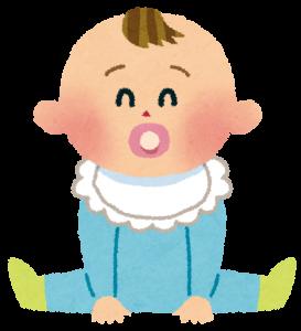 赤ちゃんのお座り練習