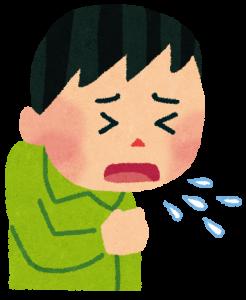 子どもの激しい咳