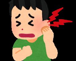 子どもの中耳炎と発熱